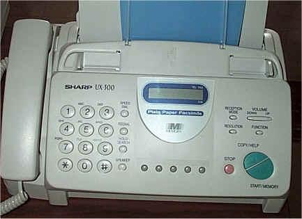 fax machine number exle